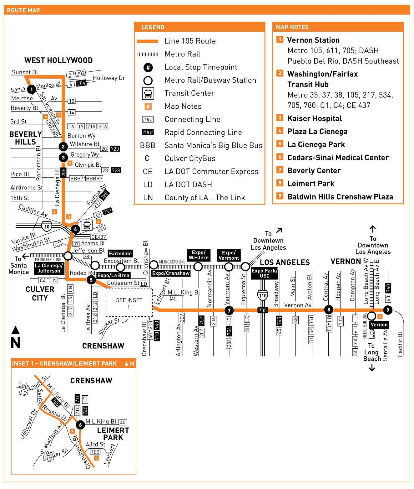 Wilshire Screening Room Mass Transit Routes